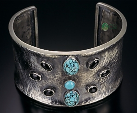 Sterling Turquoise Cuff.jpg