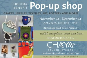 2018 holiday poster 300x200 - Holiday Pop-up Shop To Open Saturday, November 24