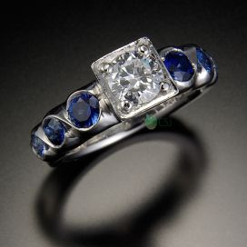 cache 272 272 0 0 80 16777215 14K%20Ring%20with%20Center%20Diamond%20and%20Sapphires - What Are Eco-Friendly Diamonds?