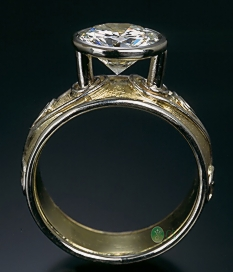 18K Floating Diamond Ring Profile view.jpg
