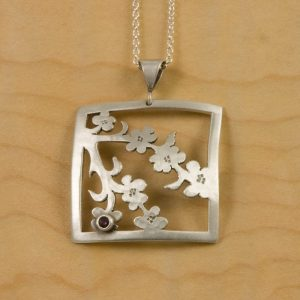 Cherry Blossom Jewelry Bending Blossoms
