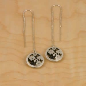 Cherry Blossom Jewelry Blossom Pod Earrings