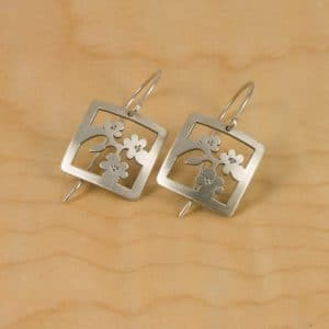 Cherry Blossom Jewelry Blossom Earrings – Sq
