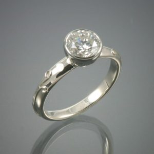 14K Diamond Vineyard Ring
