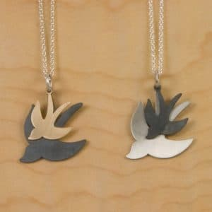 Two Birds Pendant