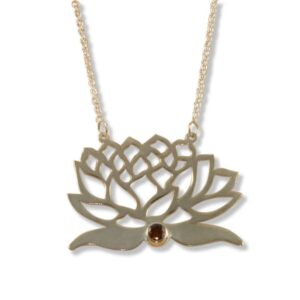 Asana Yin Lotus Necklace