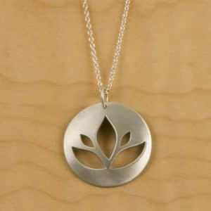 COLLECTIONS Peace Lotus Pendant