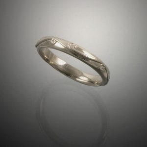 Gold Jewelry 14K 3mm Vineyard Band