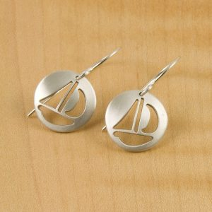 Earrings Sailboat Earrings