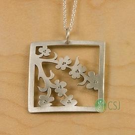 cherry blossom jewelry - New Beginnings