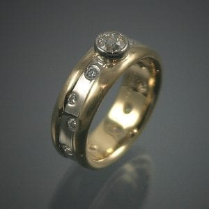 18K Diamond Ring Restoration Project 300x300 - Heirloom Redesign
