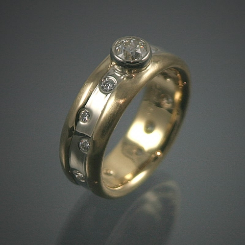 18K Diamond Ring Restoration Project 99999x500 - Heirloom Redesign