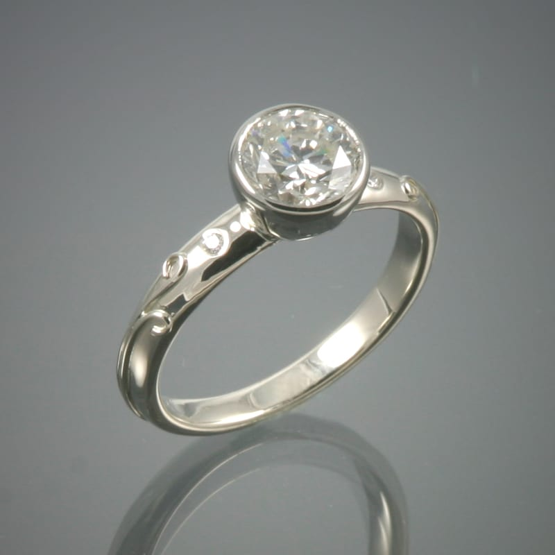 18K Diamond Vineyard Ring - Chaya Studio Jewelry