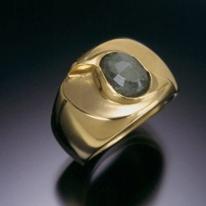 22K Gold and Emerald Ring 300x300 - Heirloom Redesign