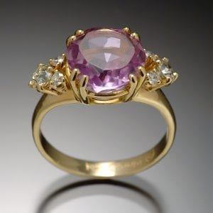 Amethyst Diamond Ring 300x300 - Heirloom Redesign