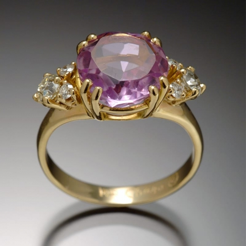 Amethyst Diamond Ring 99999x500 - Heirloom Redesign