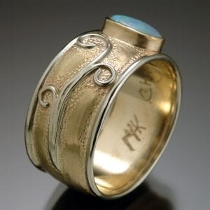 Gold Opal Restoration Ring 300x300 - Heirloom Redesign