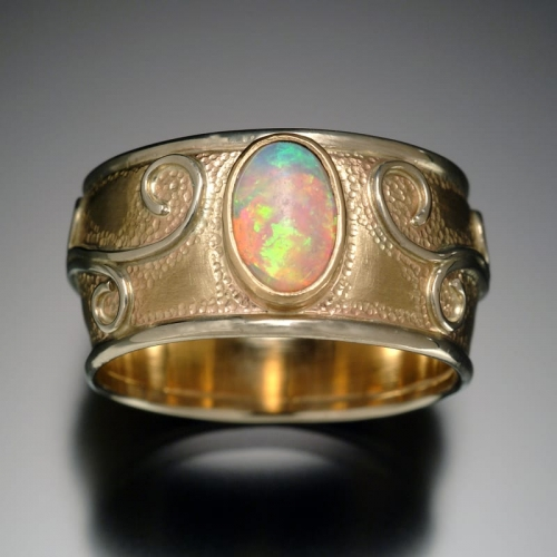 Gold Opal Restoration Ring TOP 99999x500 - Heirloom Redesign