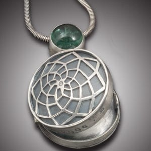 Mothers Locket with Dream Catcher Front 1 300x300 - Custom Made