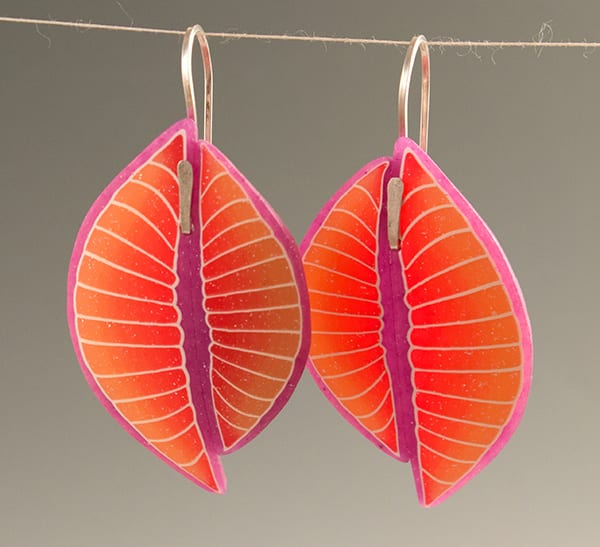 Rosy Shell Earrings translucent600x547 - Holiday Popup