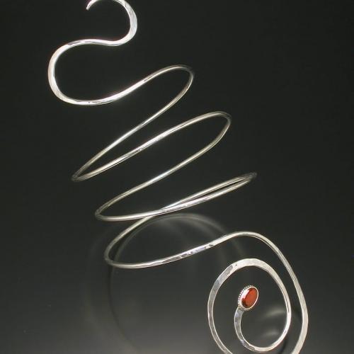 garnet arm band 99999x500 - Custom Jewelry Gallery