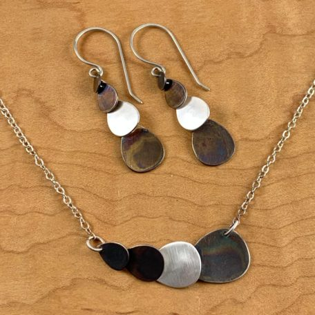 Cascade Necklace and Earrings