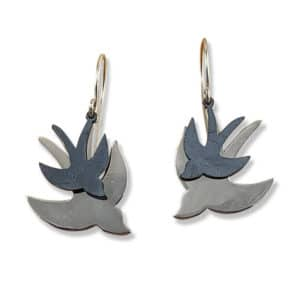 Earrings Paired Flight Earrings